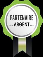 Médaille partenaire ARGENT