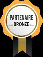 Médaille partenaire BRONZE