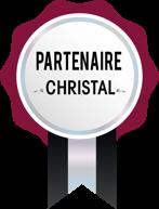 Médaille partenaire CHRISTAL