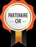 Médaille partenaire OR