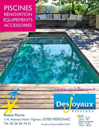 Desjoyaux piscine ccm club des entreprises gironde for Construction piscine langon